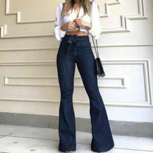 high-waist-flared-jeans
